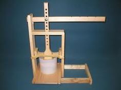 Dutch Style Cheese Press Cheese Press, Cheese Cave, Dutch Cheese, Wine Making Supplies, Homemade Cheese, How To Make Cheese, Beer Brewing, Goat Milk, Cheese Recipes