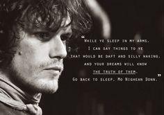 Quotes.- Jamie & Claire.