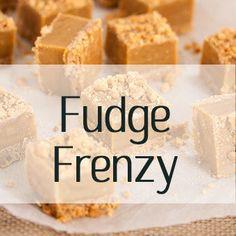 Collection of Fudge recipes, salted caramel fudge, chocolate fudge, easy fudge, traditional fudge