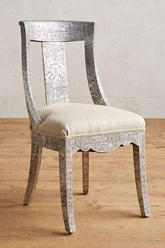 Hand-Embossed Dining Chair - anthropologie.com
