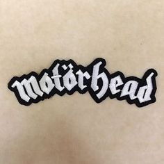 MOTORHEAD ROCK BAND PUNK HEAVY METAL MUSIC EMBROIDERY IRON ON PATCH BADGE = $1.89