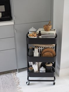 [AD] 6 simple storage solutions for new build homes and small spaces - cate st hill - 6 simple storage solutions for new build homes and small spaces – cate st hill – grey IKEA kitc - Small Cupboard, Small Kitchen Storage, Kitchen Storage Solutions, Small Space Storage, Small Space Kitchen, Small Apartment Storage, Closet Solutions, Small Space Living, Kitchen Cupboard Organization