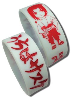 Department is Clothing, Jewelry, Wristband. Primary color is White. Publisher is GE Animation. Series is Naruto Naruto Shippuden Sasuke, Great Gifts, Just For You, Infp, Anime, Fans, Entertainment, Number, Google