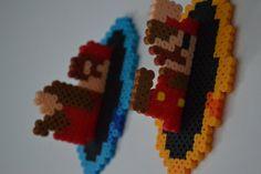 Super Mario + Portals = cool wall art for future game room
