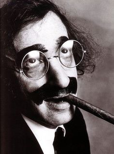 Woody Allen as Groucho Marx - Irving Penn