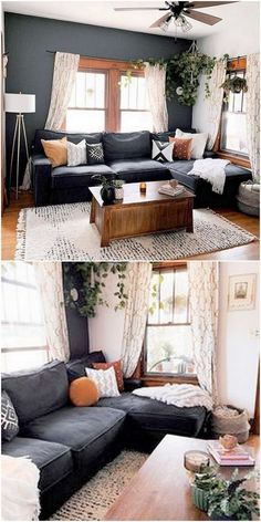 Bohemian Style Home Dekore mit neuesten Designs - Design - Bohemian Bohemian Living Rooms, Eclectic Living Room, Home Living Room, Apartment Living, Living Room Decor, Living Spaces, Bohemian Apartment, Cozy Living Rooms, Home Interior