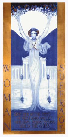 Women's Suffrage Poster, check out Deb Ostrowski's Women Board here on Pinterest:  Beautiful, Intelligent & Amazing
