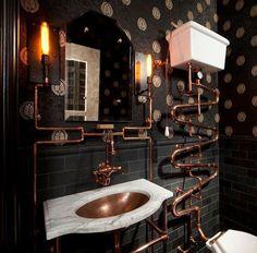 Fabulous Steampunk Bathroom