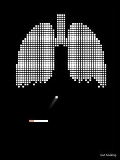 Stop smoking or your lungs get pinged