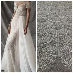 Off White Wedding Dresses, Ivory Lace Wedding Dress, Bridal Wedding Dresses, Bridal Lace, Lace Dress, Beaded Lace Fabric, Tulle Lace, Mesh Fabric, Lehenga Pattern
