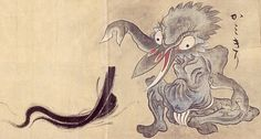 """Kami-kiri (lit. """"hair-cutter"""") are ghostly spirits known for sneaking up on people and cutting all their hair off, particularly when they are unknowingly engaged to marry a yokai, spirit or other supernatural creature posing as a human. These hair-cutting attacks are intended to delay or prevent weddings between humans and otherworldly beings, which are typically doomed to failure."""