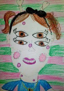 3rd Grade, Creature Portraits