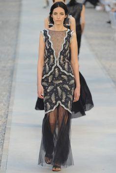 Chanel Resort 2012 Fashion Show - Danielle Zinaich