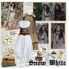 """Snow White- Of Once Upon A Time"" by opelazar on Polyvore"
