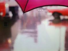 Saul Leiter, New York ,Red umbrella Abstract Photography, Color Photography, Street Photography, Saul Leiter, Holiday Nights, New York School, Red Umbrella, Billie Holiday, Out Of Focus