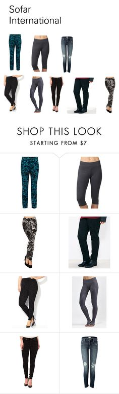 """""""Flocking Pant/ Ladies Denim Pant/ Flocking Jeans"""" by asifnazir on Polyvore featuring Proenza Schouler, Jockey, Avenue, Splits59, Hue and Mother"""