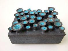Antoinette Faragallah, ceramic container.