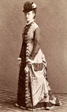 Princess Louise Margaret of Prussia Duchess of Connaught. Separate source has this as being taken in 1878.