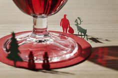TERADA MOKEI|1/100 ARCHITECTURAL MODEL COASTERS No.4 Christmas