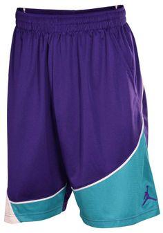 348623f7eca2 New Nike Air Jordan mens basketball athletic shorts BIG size 3X 3XL XXXL  Purple  NikeAirJordan