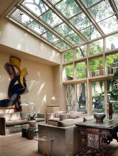 Living room atrium love!