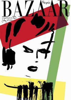 ALEXEY BRODOVITCH (1898-1971) _1943 a 1958 Director de arte de HARPER'S BAZAAR. _Incorpora la SOFISTICACIÓN visual europea al producto dirigido al gran público. _inventó las premisas de la maquetación, el espacio y la COMPOSICIÓN de DOBLE PÁGINA. _juego entre texto & fotografía. _dinamismo / ritmo / asimetría.