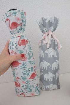 DIY Sewing Tutorial: Flaschentasche nähen - Stoffreste aufbrauchen - Bernina Blog