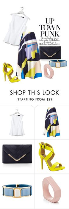 """""""#157"""" by omahtawon ❤ liked on Polyvore featuring Banana Republic, L.K.Bennett, Accessorize, Michael Antonio, Prada and Marni"""