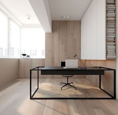 Awesome Minimalist Black White Home Office Decorating Ideas # dekorerarideas # dekorerar . Awesome Minimalist Black White Home Office Decorating Ideas # dekorerarideas # dekorerar hem Black Desk, Black And White Office, Black White, Matte Black, Office Interior Design, Home Office Decor, Office Interiors, Office Ideas, Office Themes