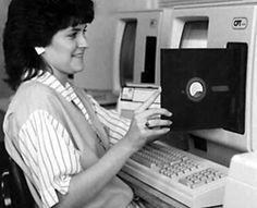 """8-1/2"""" floppy disk."""