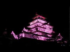 Projection Mapping on Tsuruga Castle by JKD Collective