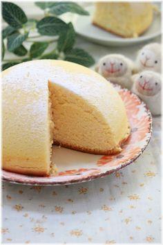 ふわふわチーズドームケーキ。   よめ膳@YOMEカフェ