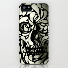 Skull iPhone case - a little more grown up than the old skull and crossbones motif.
