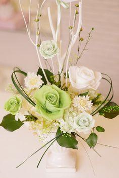 結婚式のご両親への贈り物や記念日のプレゼントとしてお薦めのプリザーブドフラワーギフトです。