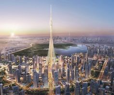 Dubai has started construction of a skyscraper that will reach even greater heights than t...