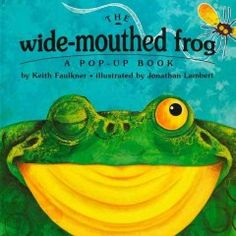 Tuesday, December 1, 2015. A wide-mouthed frog is interested in what other animals eat--until he meets a creature that eats only wide-mouthed frogs!
