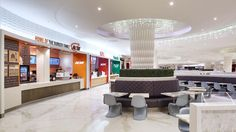 West Edmonton Mall Gourmet Court 3 - GHA Design | Retail Design