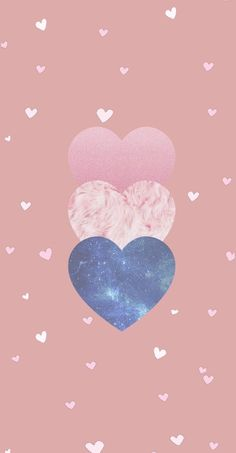 Wallpaper Three Hearts by Gocase hearts hearts pink galaxy galaxy universe textures cute girly cute gocase lovegocase wallpaper background background wallpaper, Phone Screen Wallpaper, Flower Phone Wallpaper, Gold Wallpaper, Heart Wallpaper, Trendy Wallpaper, Cute Wallpaper Backgrounds, Tumblr Wallpaper, Wallpaper Iphone Cute, Cellphone Wallpaper