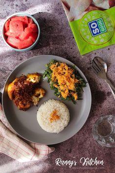 chicken fried, spicy chicken, ayam goreng