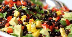 Avocado and Black Bean Salad