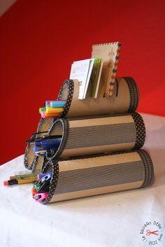 DIY : rangement pour crayons avec masking tape by Le Récré Art' D'Elfie