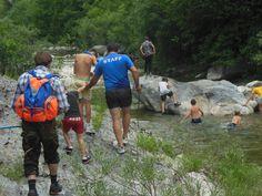 Percorsi guidati di streambed trekking