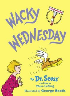Drawings and verse point out the many things that are wrong one wacky Wednesday.