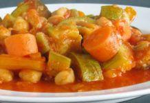 Ragoût de légumes et pois chiches WW