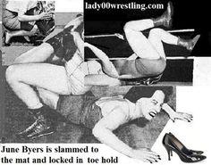 50s Vintage Retro Females Women Schoolgirls Wrestling Pictures DVDs