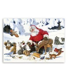 Santa Claus & Friends 350-Piece Puzzle