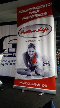 Active Life Lider en Equipos de Gimnasio.