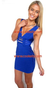 Cookelly Bandage Dress http://www.cookelly.com/cookelly-bandage-dress-33379.html