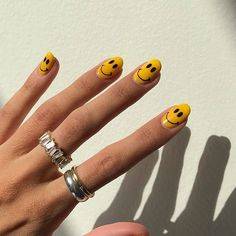 Nail Design Stiletto, Nail Design Glitter, Aycrlic Nails, Swag Nails, Hair And Nails, Finger, Fire Nails, Minimalist Nails, Gold Nails