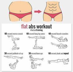 Flat abs workout sport motivation, fitness motivation, fitness workouts, cardio gym, at Fitness Workouts, Fitness Motivation, Yoga Fitness, At Home Workouts, Health Fitness, Cardio Gym, Sport Motivation, Health Diet, Workout Bauch